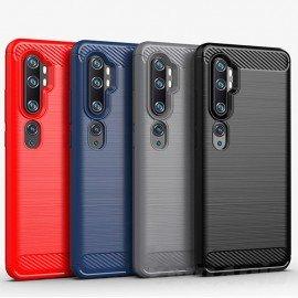 Coque Silicone Xiaomi Mi NOTE 10 Tpu Carbone 3D