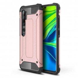 Coque Xiaomi MI Note 10 Anti Choques Or Rose