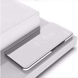 Etuis Xiaomi Mi Note 10 smart Cover Argent