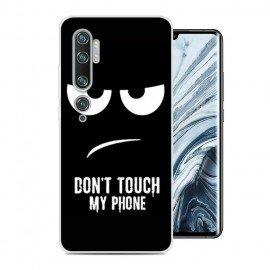 Coque Silicone Xiaomi Mi Note 10 Faché