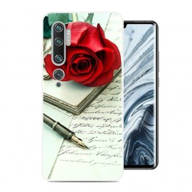 Coque Silicone Xiaomi Mi Note 10 Rose