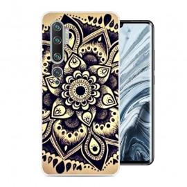 Coque Silicone Xiaomi Mi Note 10 Fleur