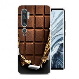 Coque Silicone Xiaomi Mi Note 10 Chocolat