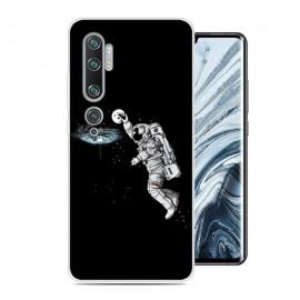 Coque Silicone Xiaomi Mi Note 10 Cosmonaute