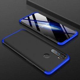 Coque 360 Realme 5 Pro Noire et Bleue