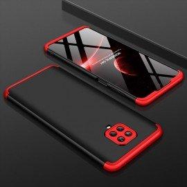 Coque 360 Xiaomi Redmi Note 9 PRO Noire et Rouge