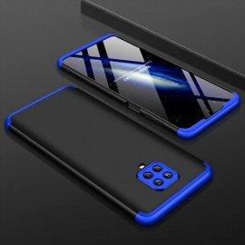 Coque 360 Xiaomi Redmi Note 9 PRO Noire et Bleue
