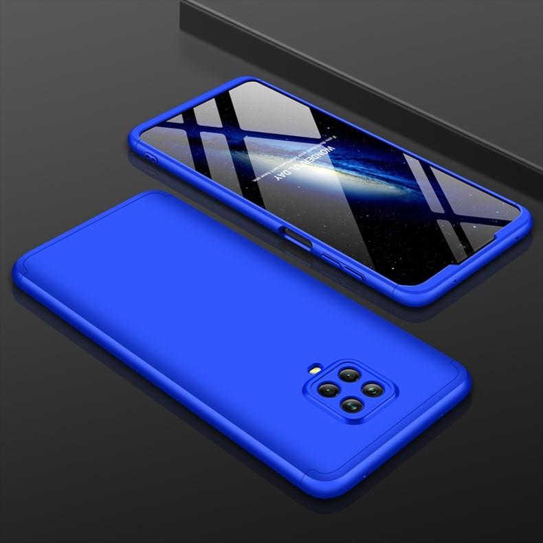 Coque 360 Xiaomi Redmi Note 9 Pro Bleue