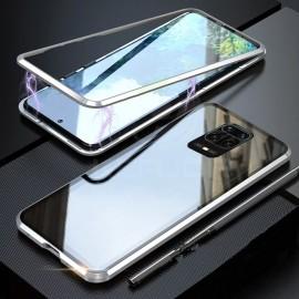 Coque double Xiaomi Redmi Note 9 PRO Magnetique Grise