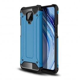 Coque Xiaomi Redmi Note 9 Pro Anti Choques Bleue