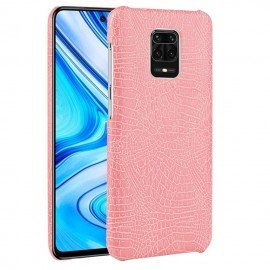 Coque Xiaomi Redmi Note 9 Pro Crocodile Rose