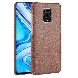 Coque Xiaomi Redmi Note 9 Pro Crocodile Marron