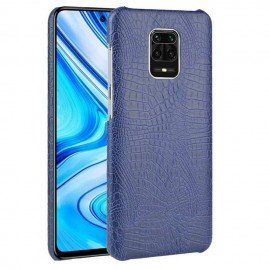 Coque Xiaomi Redmi Note 9 Pro Crocodile Navy