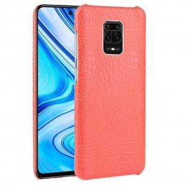 Coque Xiaomi Redmi Note 9 Pro Crocodile Rouge