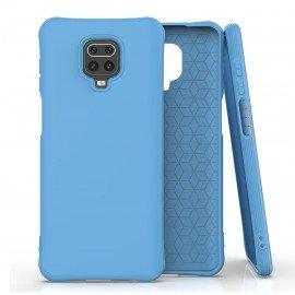 Coque Xiaomi Redmi Note 9 PRO Silicone Suprème Bleue