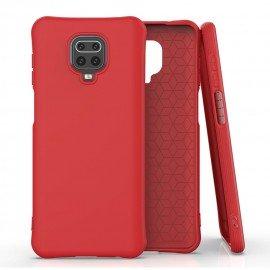 Coque Xiaomi Redmi Note 9 PRO Silicone Suprème Rouge