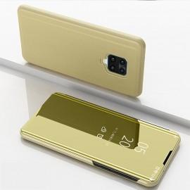 Etuis Xiaomi Redmi Note 9 Pro smart Cover Doré