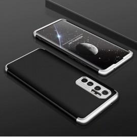 Coque 360 Xiaomi Mi Note 10 Lite Noire et Grise