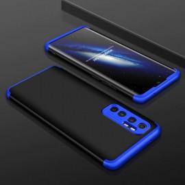 Coque 360 Xiaomi Mi Note 10 Lite Noire et Bleue