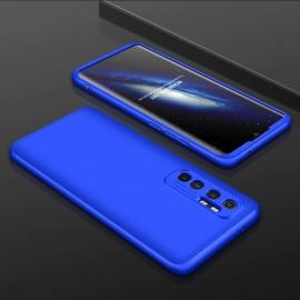 Coque 360 Xiaomi Mi Note 10 Lite Bleue
