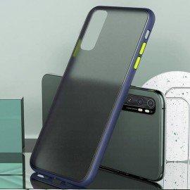 Coque Xiaomi Mi Note 10 Lite Hybrid Bleue Anae