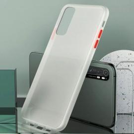 Coque Xiaomi Mi Note 10 Lite Hybrid Blanche Anae