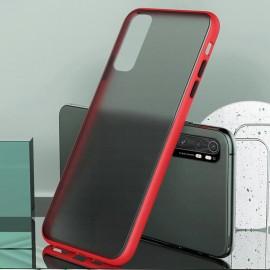 Coque Xiaomi Mi Note 10 Lite Hybrid Rouge Anae
