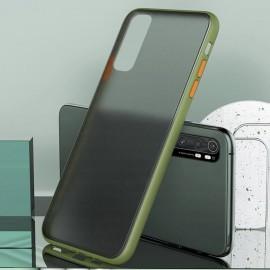 Coque Xiaomi Mi Note 10 Lite Hybrid Verte Anae