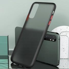 Coque Xiaomi Mi Note 10 Lite Hybrid Noire Anae