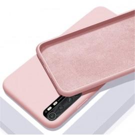 Coque Silicone Xiaomi Mi Note 10 Lite Soyeuse Rose