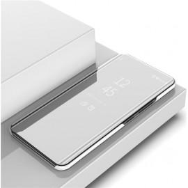 Etuis Xiaomi Mi Note 10 Lite smart Cover Gris Argent