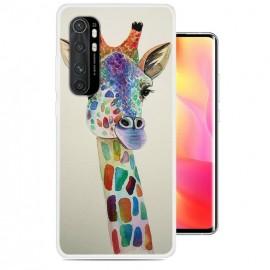 Coque Xiaomi Mi Note 10 Lite Girafe Silicone