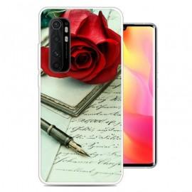 Coque Xiaomi Mi Note 10 Lite Rose Silicone