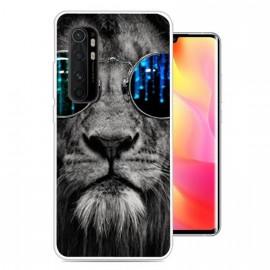 Coque Xiaomi Mi Note 10 Lite Lion Cool Silicone