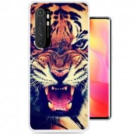 Coque Xiaomi Mi Note 10 Lite Tigre Silicone