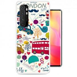 Coque Xiaomi Mi Note 10 Lite London Silicone