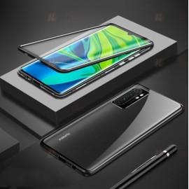 Coque double Xiaomi Mi Note 10 Lite Magnetique Noire