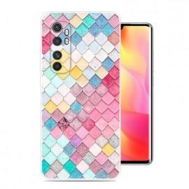 Coque Xiaomi Mi Note 10 Lite Aquarelle Silicone