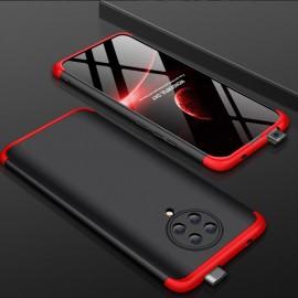 Coque 360 Pocophone F2 Pro Noire et Rouge