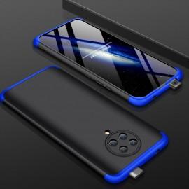 Coque 360 Pocophone F2 Pro Noire et Bleue