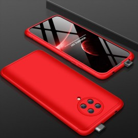 Coque 360 Pocophone F2 Pro Rouge