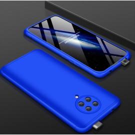 Coque 360 Pocophone F2 Pro Bleue