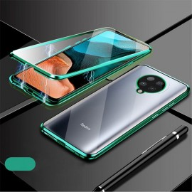Coque Complète Pocophone F2 Pro Magnetique Verte