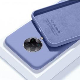 Coque Pocophone F2 Pro Silicone Liquide Lila