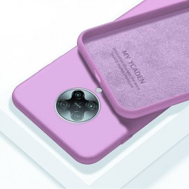 Coque Pocophone F2 Pro Silicone Liquide Rose