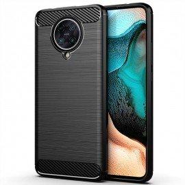 Coque Pocophone F2 Pro Tpu Carbone 3D Noire