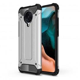 Coque Xiaomi Pocophone F2 PRO Anti Choques Gris Argent