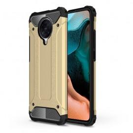 Coque Xiaomi Pocophone F2 PRO Anti Choques Dorée