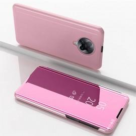 Etuis Pocophone F2 Pro Miroir Smart Rose