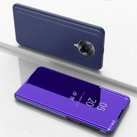 Etuis Pocophone F2 Pro Miroir Smart Lila
